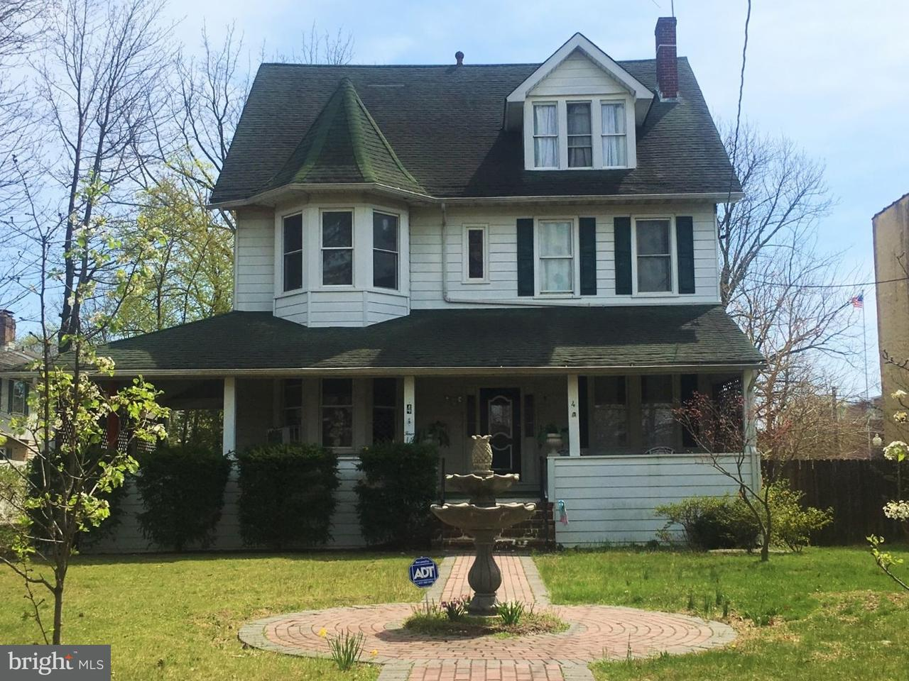 Single Family Home for Sale at 4 E MAPLE Avenue Merchantville, New Jersey 08109 United States