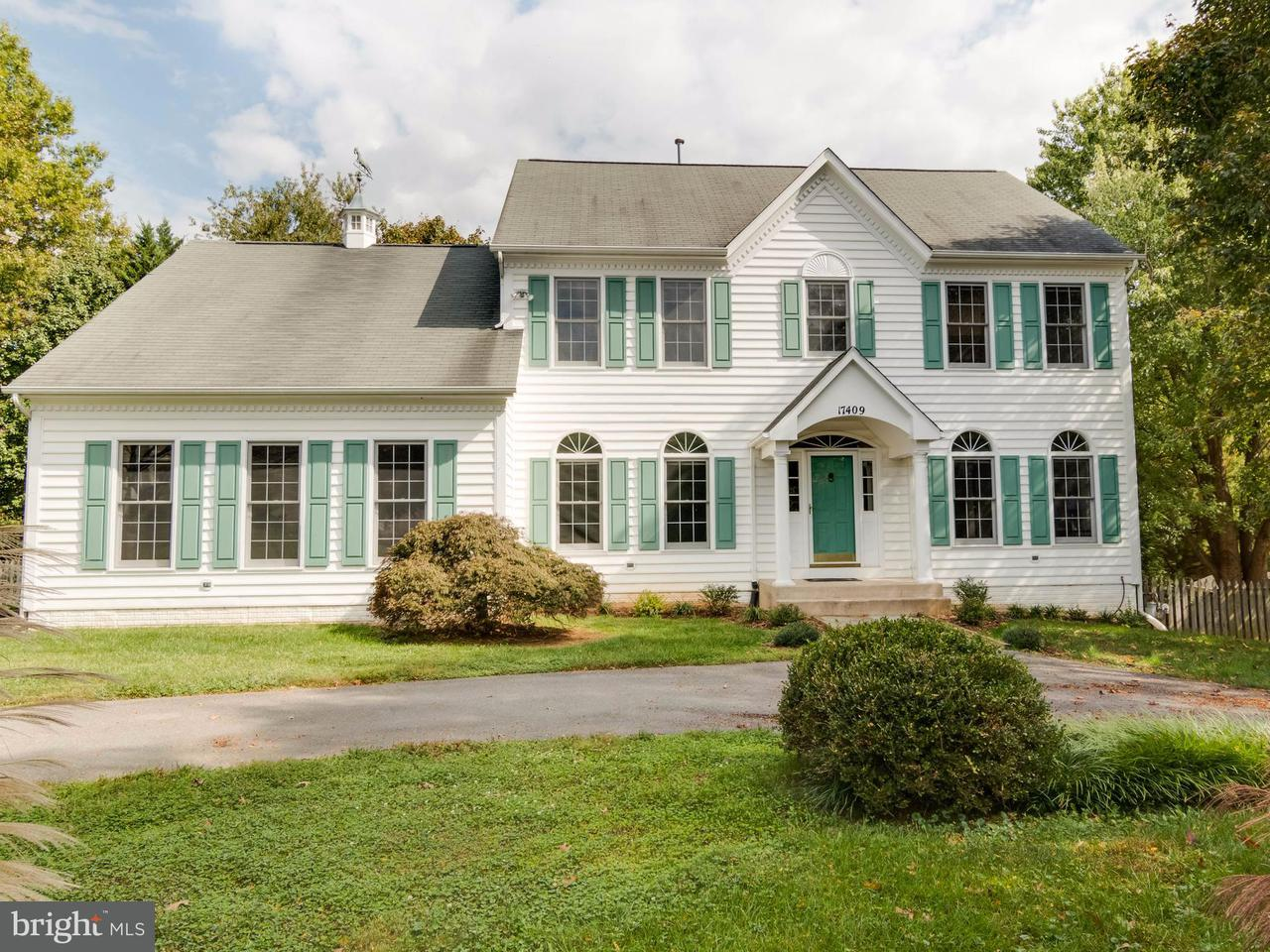 Single Family Home for Sale at 17409 REDLAND Road 17409 REDLAND Road Rockville, Maryland 20855 United States