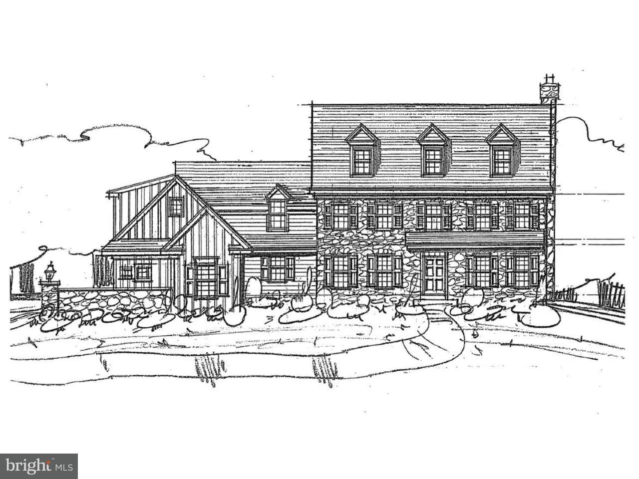 Maison unifamiliale pour l Vente à 167,167A DILWORTHTOWN Road Thornton, Pennsylvanie 19373 États-Unis