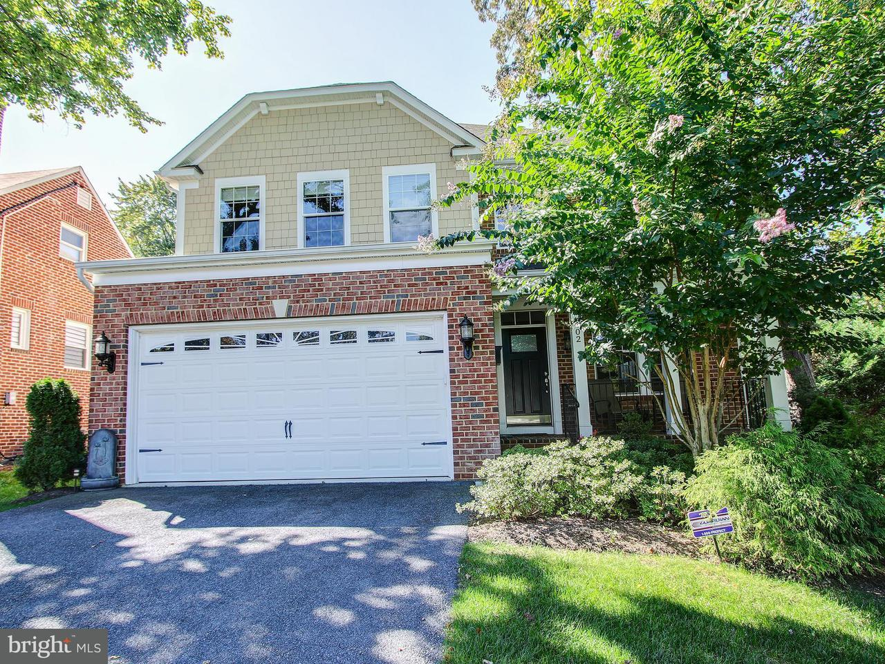 Single Family Home for Sale at 402 BEALL Avenue 402 BEALL Avenue Rockville, Maryland 20850 United States