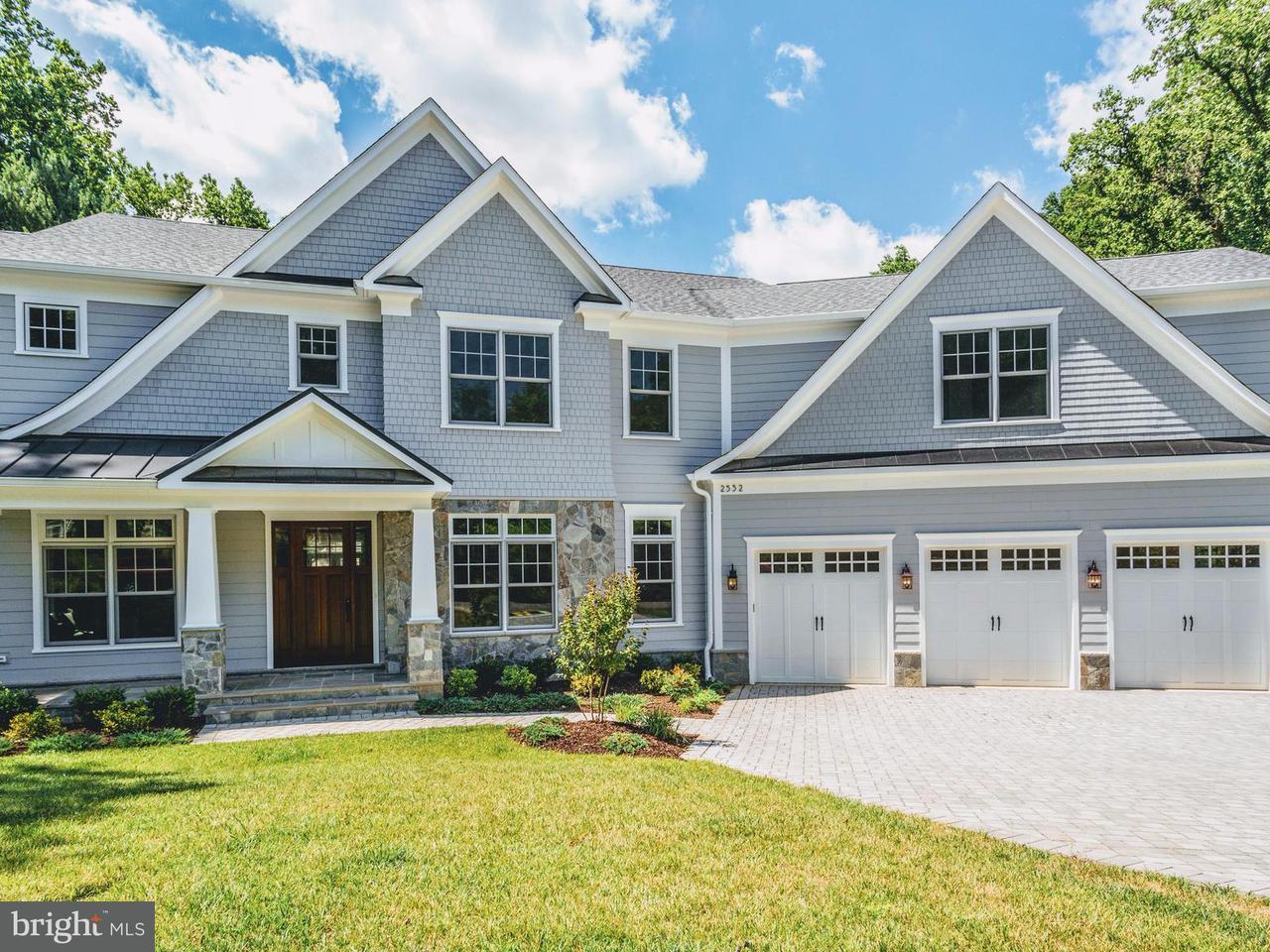 Частный односемейный дом для того Продажа на 2552 23RD RD N 2552 23RD RD N Arlington, Виргиния 22207 Соединенные Штаты