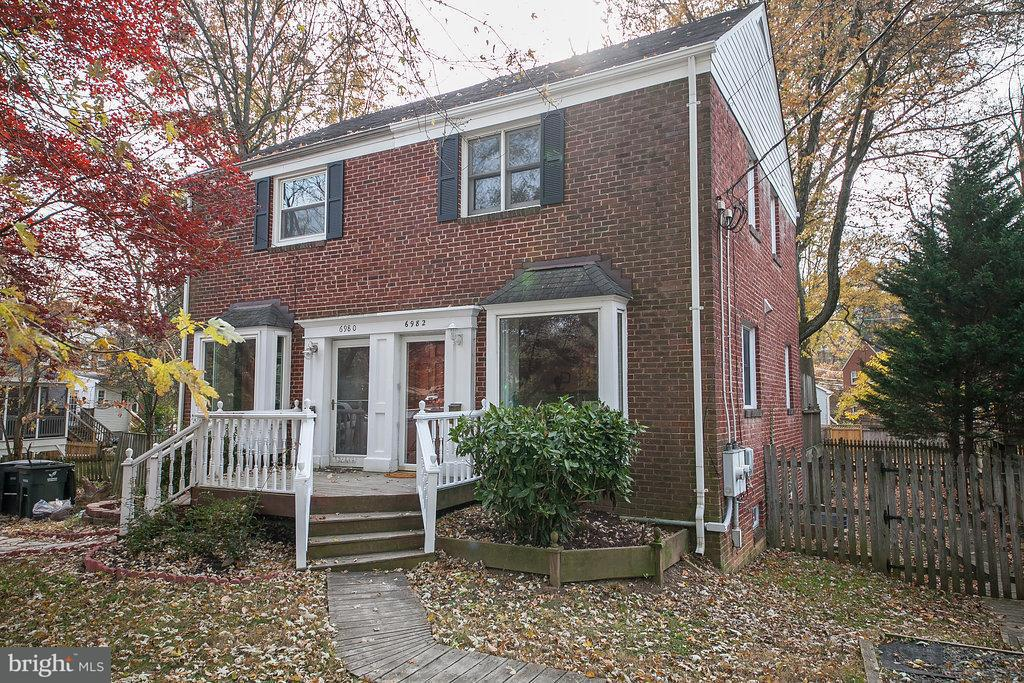 Duplex for Sale at 6982 FAIRFAX Drive 6982 FAIRFAX Drive Arlington, Virginia 22213 United States