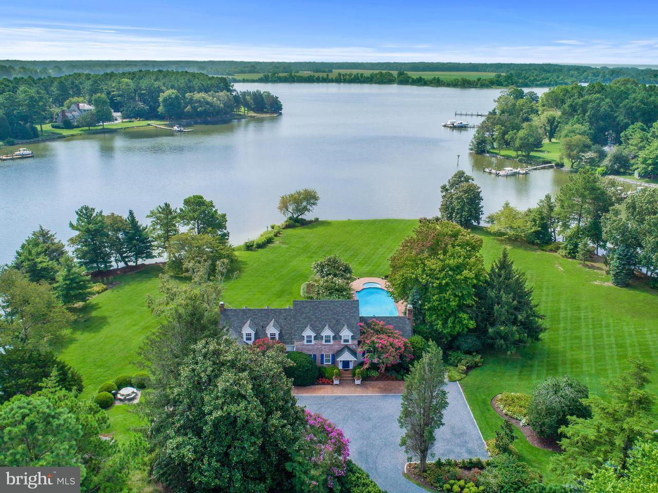 Single Family for Sale at 27006 Holly Harbor Ct Oxford, Maryland 21654 United States