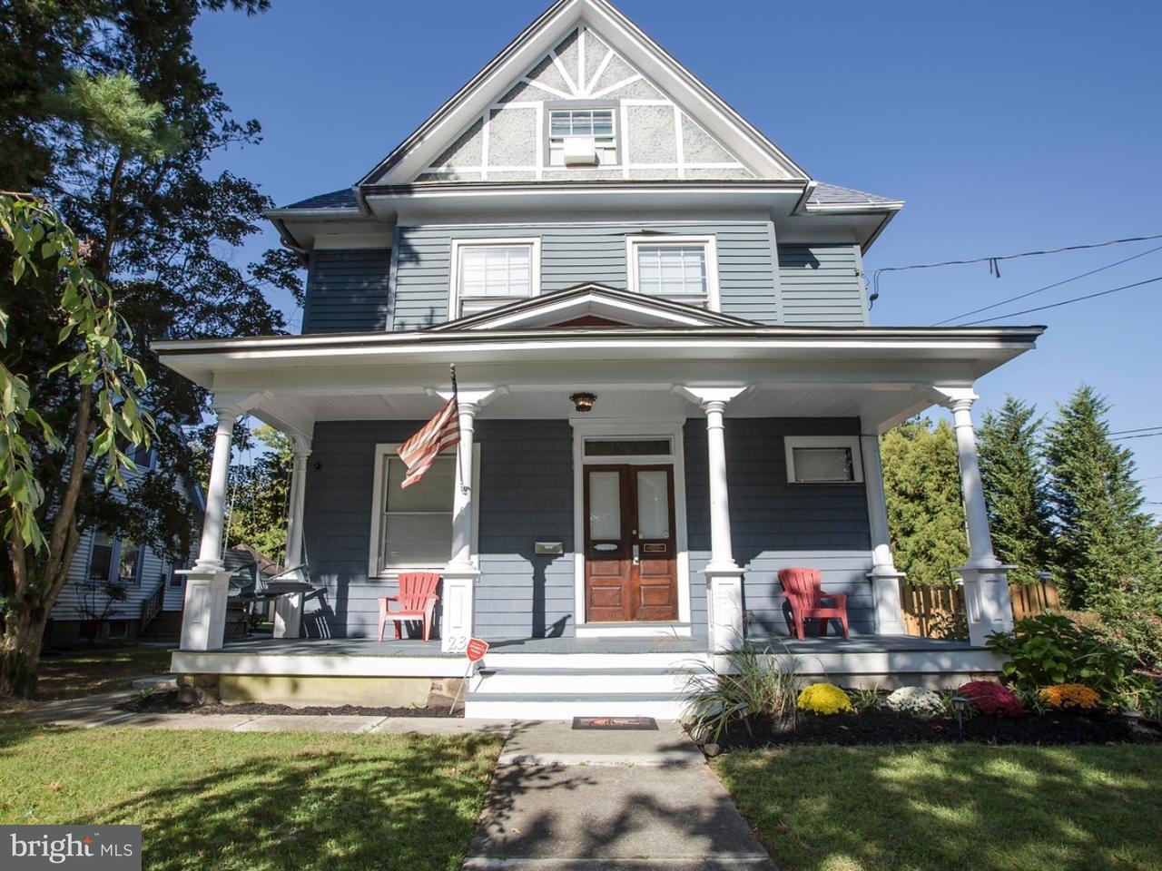 Casa Unifamiliar por un Venta en 23 S WOODLAND Avenue Woodbury, Nueva Jersey 08096 Estados Unidos