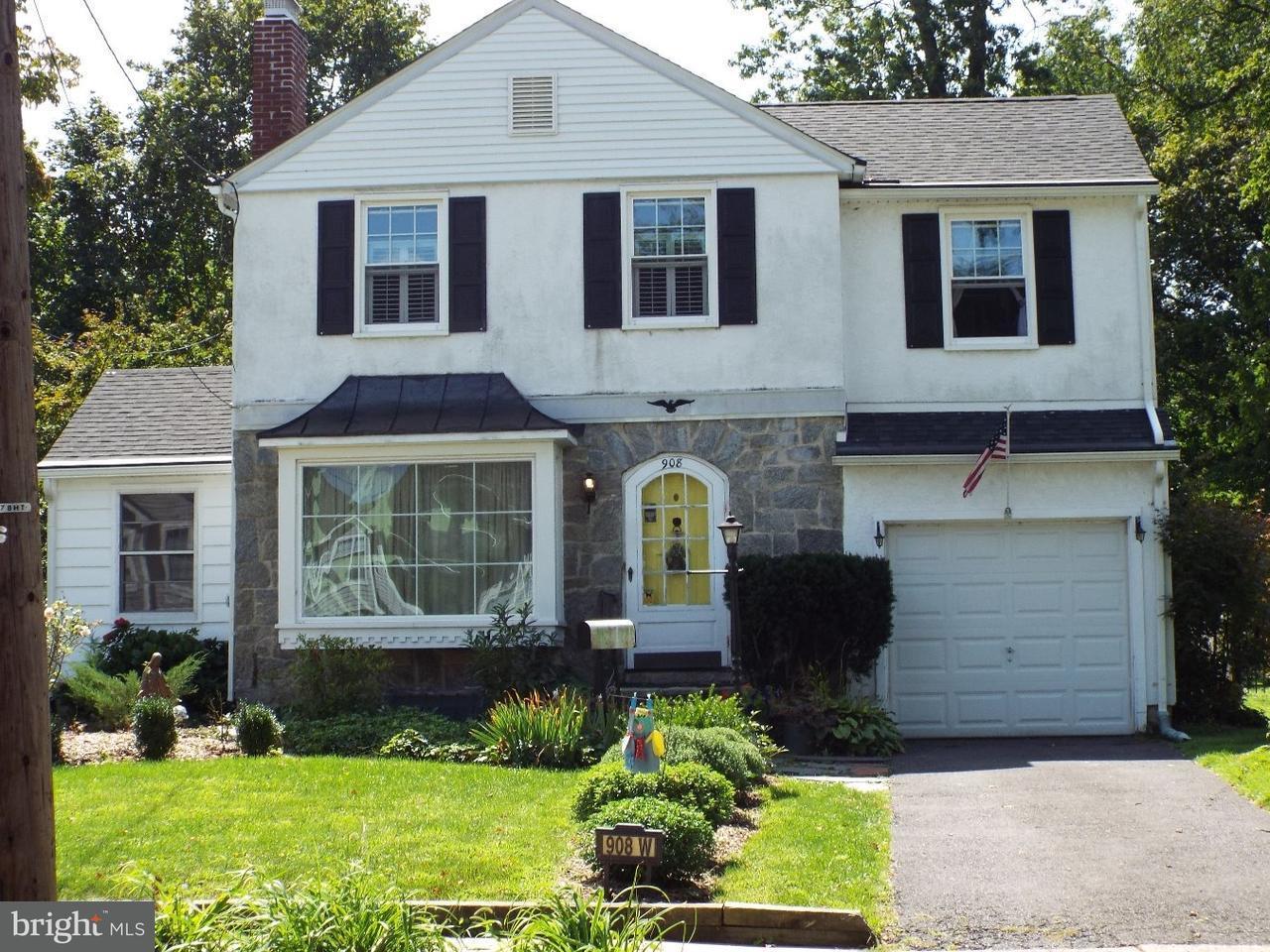 Casa Unifamiliar por un Venta en 908 W REDMAN Avenue Haddon Township, Nueva Jersey 08033 Estados Unidos
