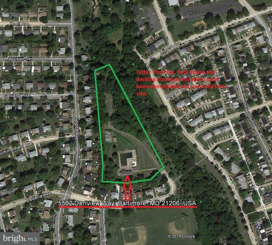 Land for Sale at 5502 Denview Way Baltimore, Maryland 21206 United States