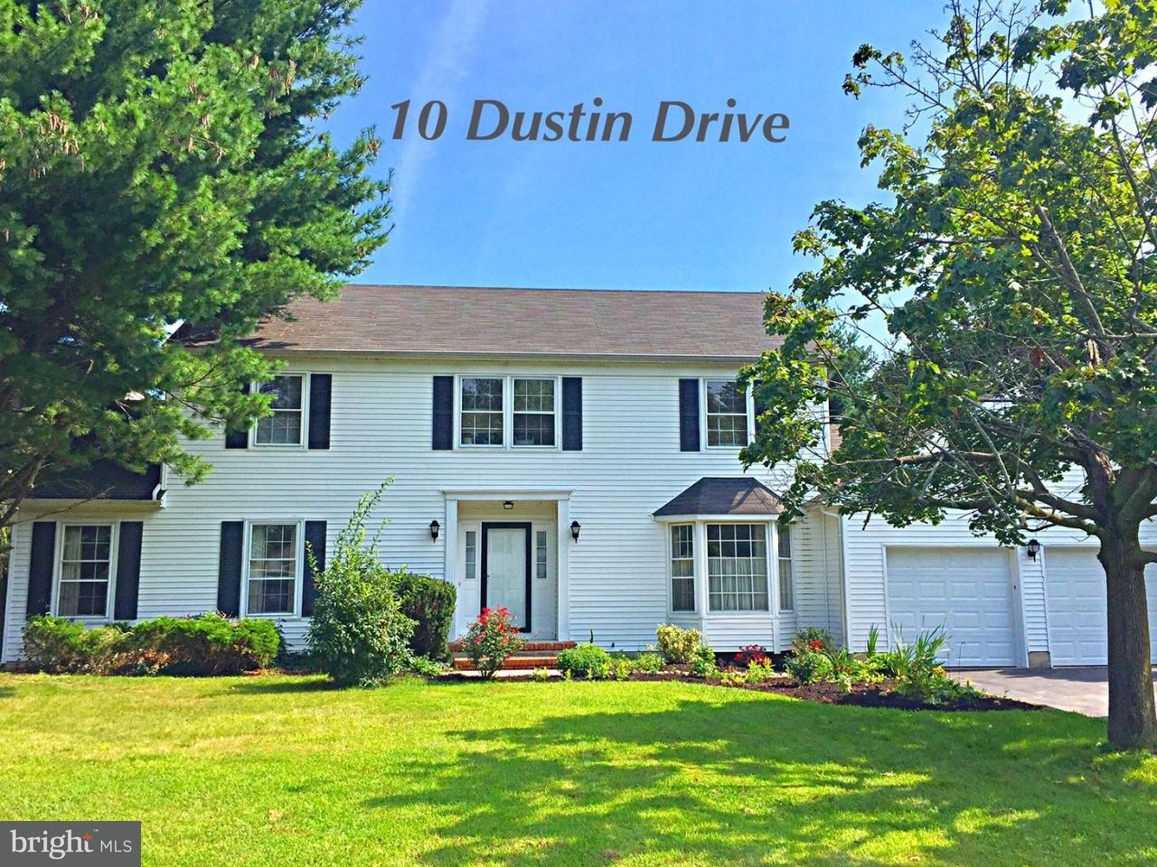 Single Family Home for Sale at 10 DUSTIN Drive Lawrenceville, New Jersey 08648 United StatesMunicipality: Lawrence Township
