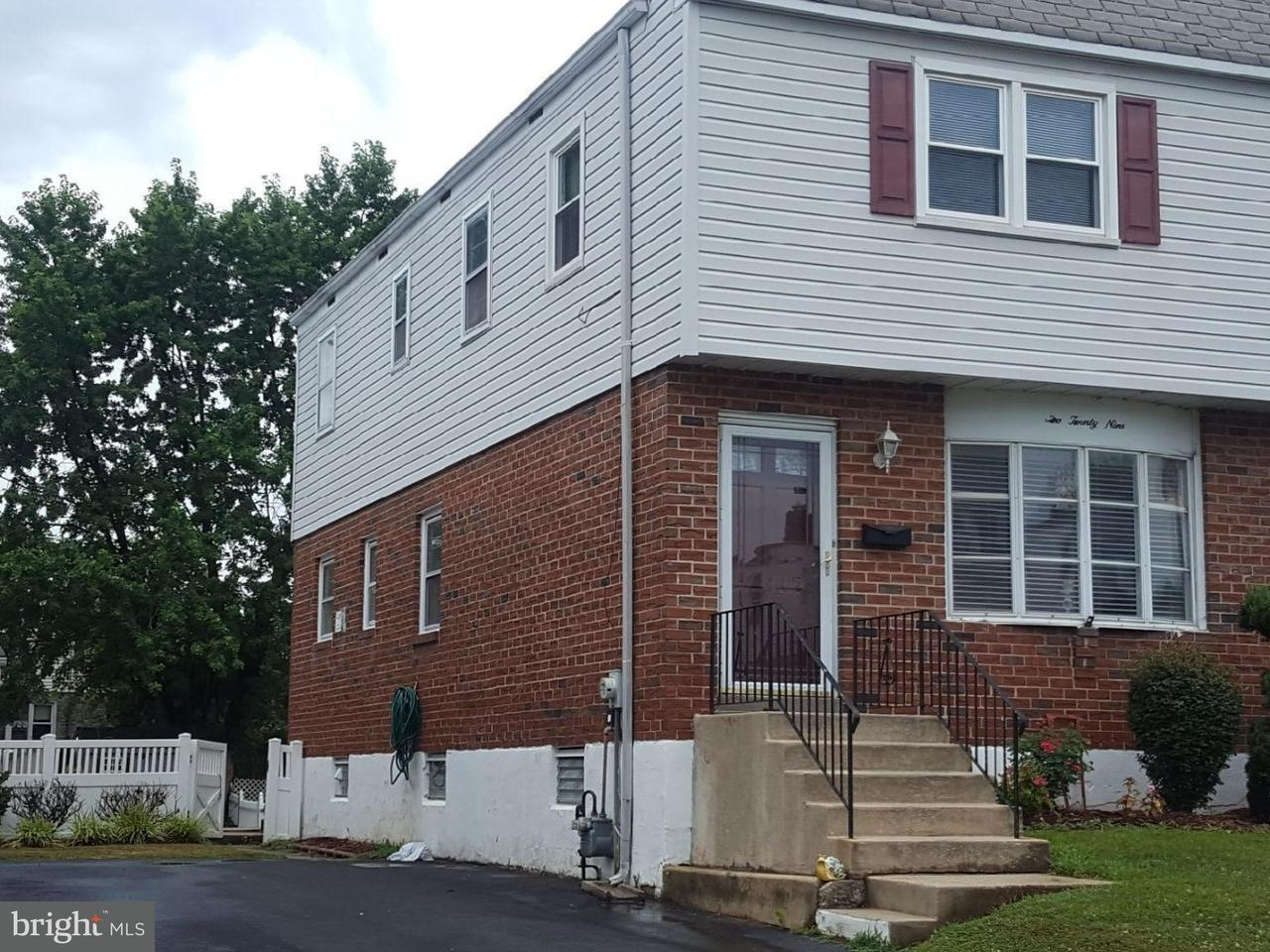 Townhouse for Sale at 229 MORRIS Avenue Woodlyn, Pennsylvania 19094 United States