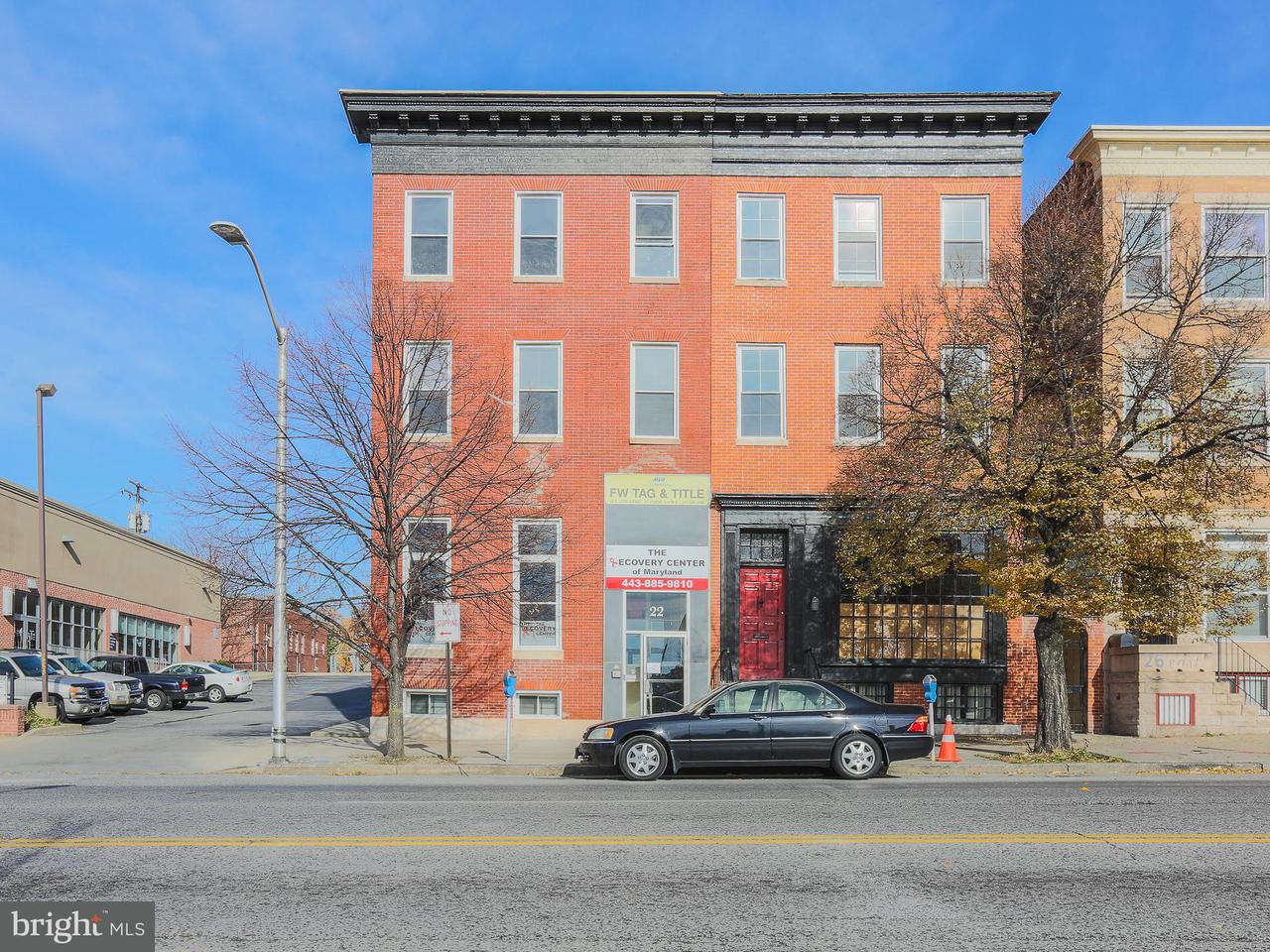 Commercial for Sale at 22 25th St E Baltimore, Maryland 21218 United States