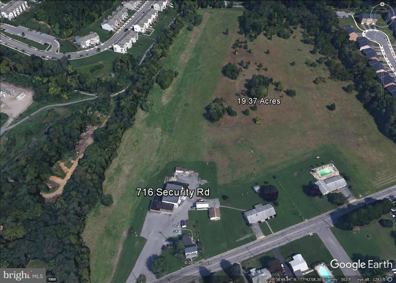 Terreno por un Venta en SECURITY Road SECURITY Road Hagerstown, Maryland 21740 Estados Unidos
