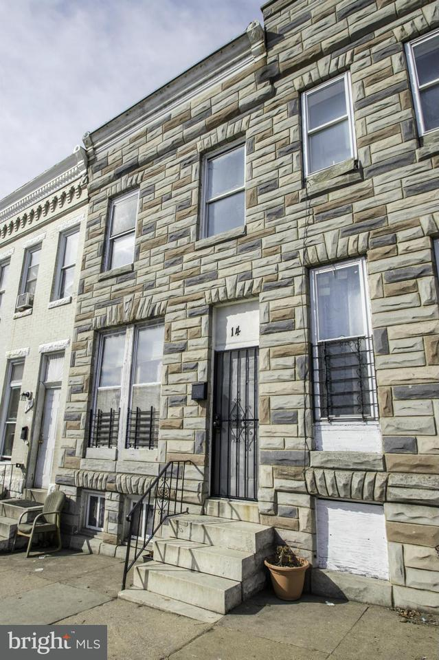 Single Family for Sale at 14 Monroe St Baltimore, Maryland 21223 United States