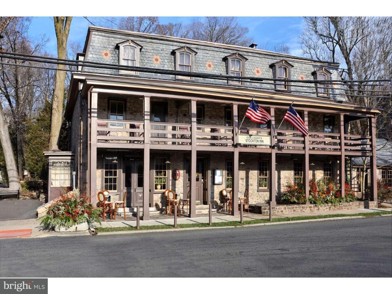 独户住宅 为 销售 在 1 N MAIN Street 斯托克顿市, 新泽西州 08559 美国在/周边: Stockton