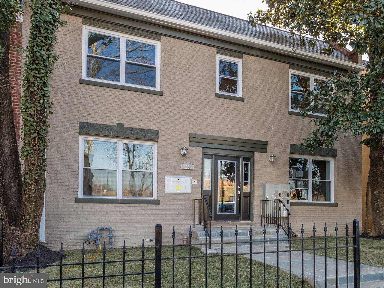 Condominium for Sale at 1363 Childress St NE #2 Washington, District Of Columbia 20002 United States