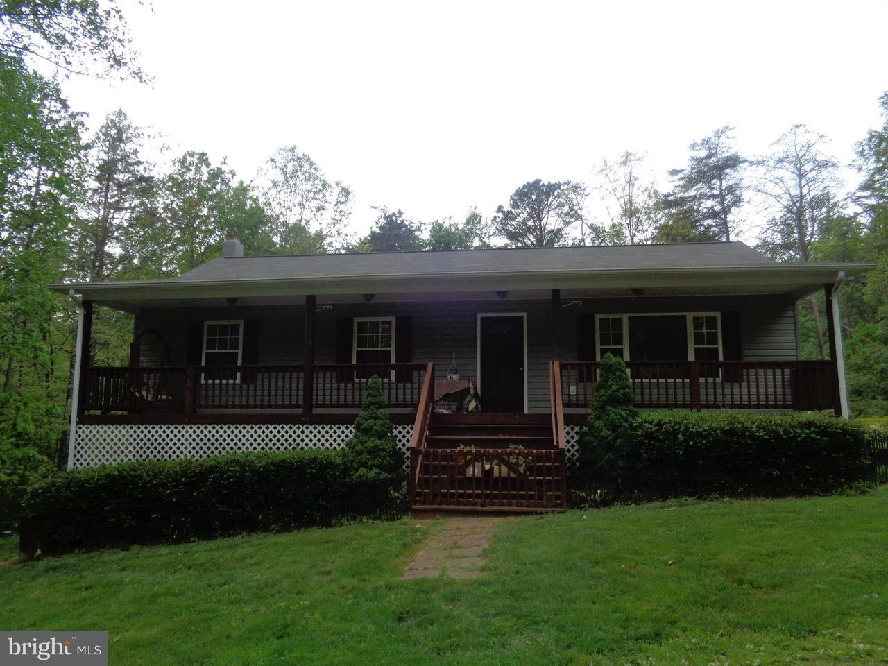 Maison unifamiliale pour l Vente à 123 Poplar Hollow Lane 123 Poplar Hollow Lane Castleton, Virginia 22716 États-Unis