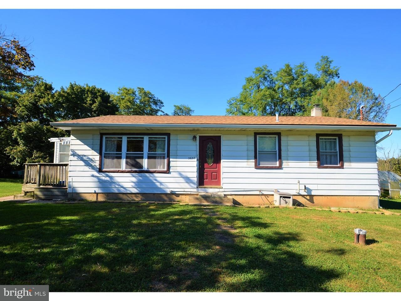Single Family Home for Sale at 3657 EBERHART Road Whitehall, Pennsylvania 18052 United States