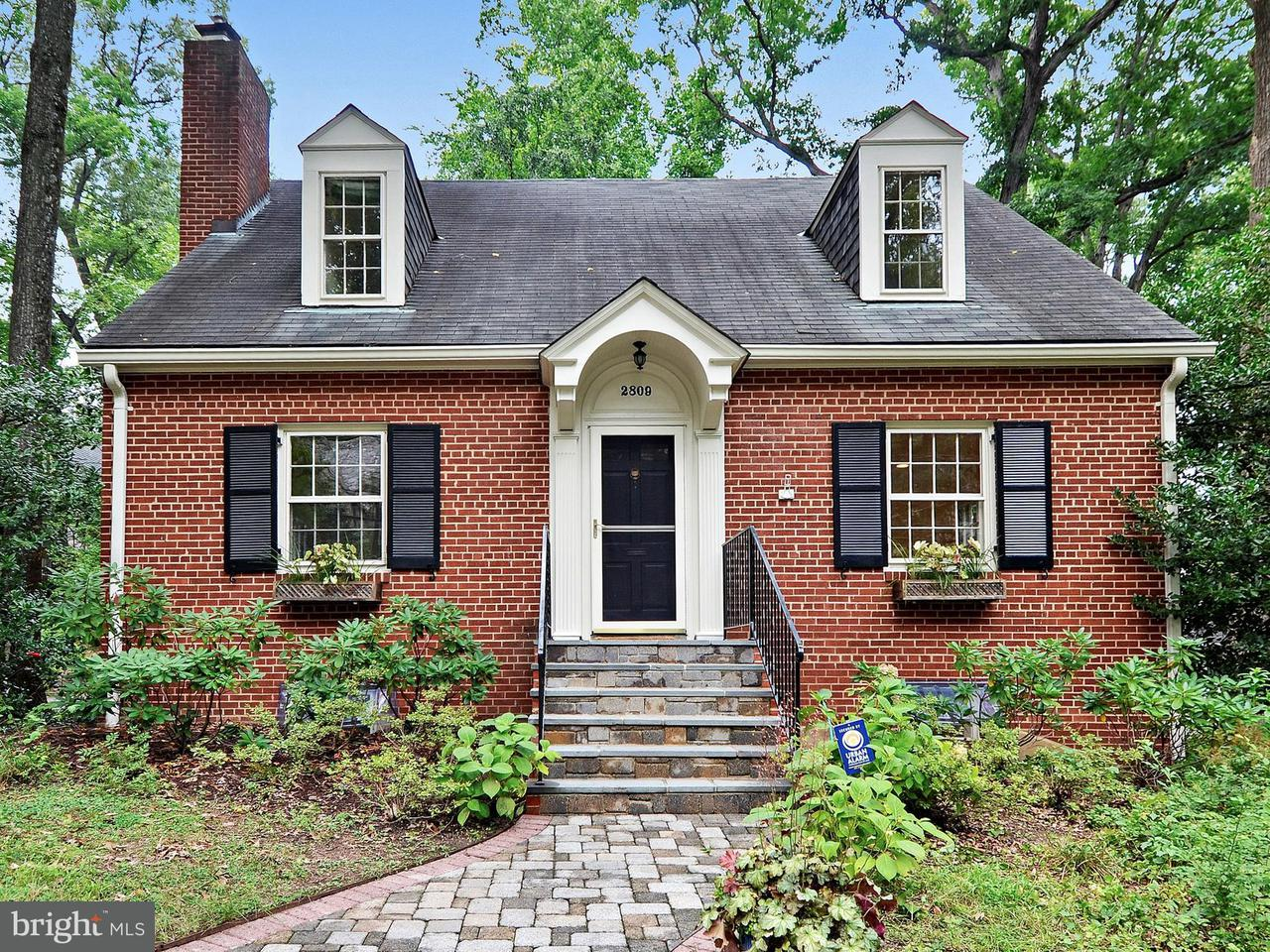 Single Family Home for Sale at 2809 BRANDYWINE ST NW 2809 BRANDYWINE ST NW Washington, District Of Columbia 20008 United States