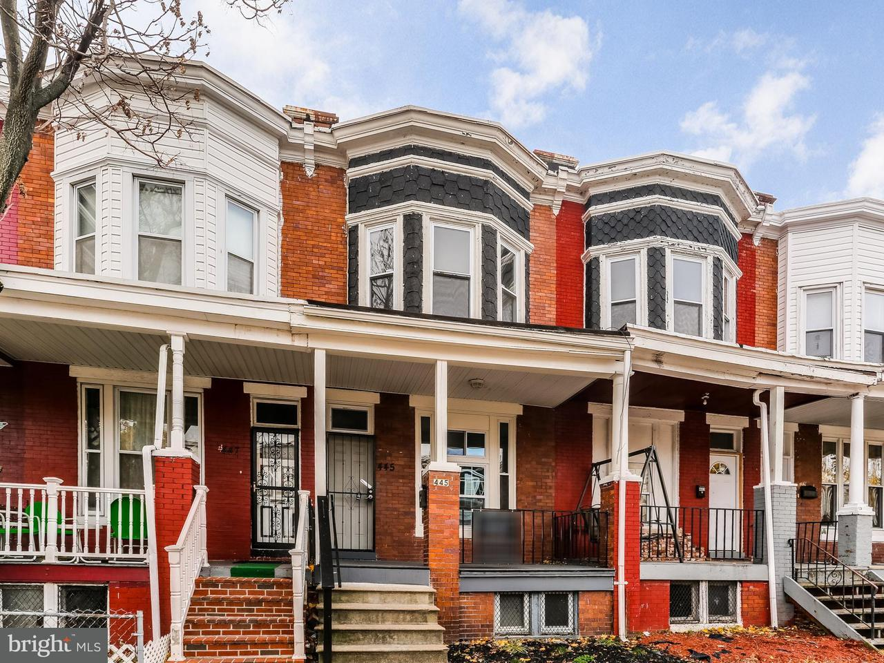 Single Family for Sale at 445 28th St Baltimore, Maryland 21218 United States