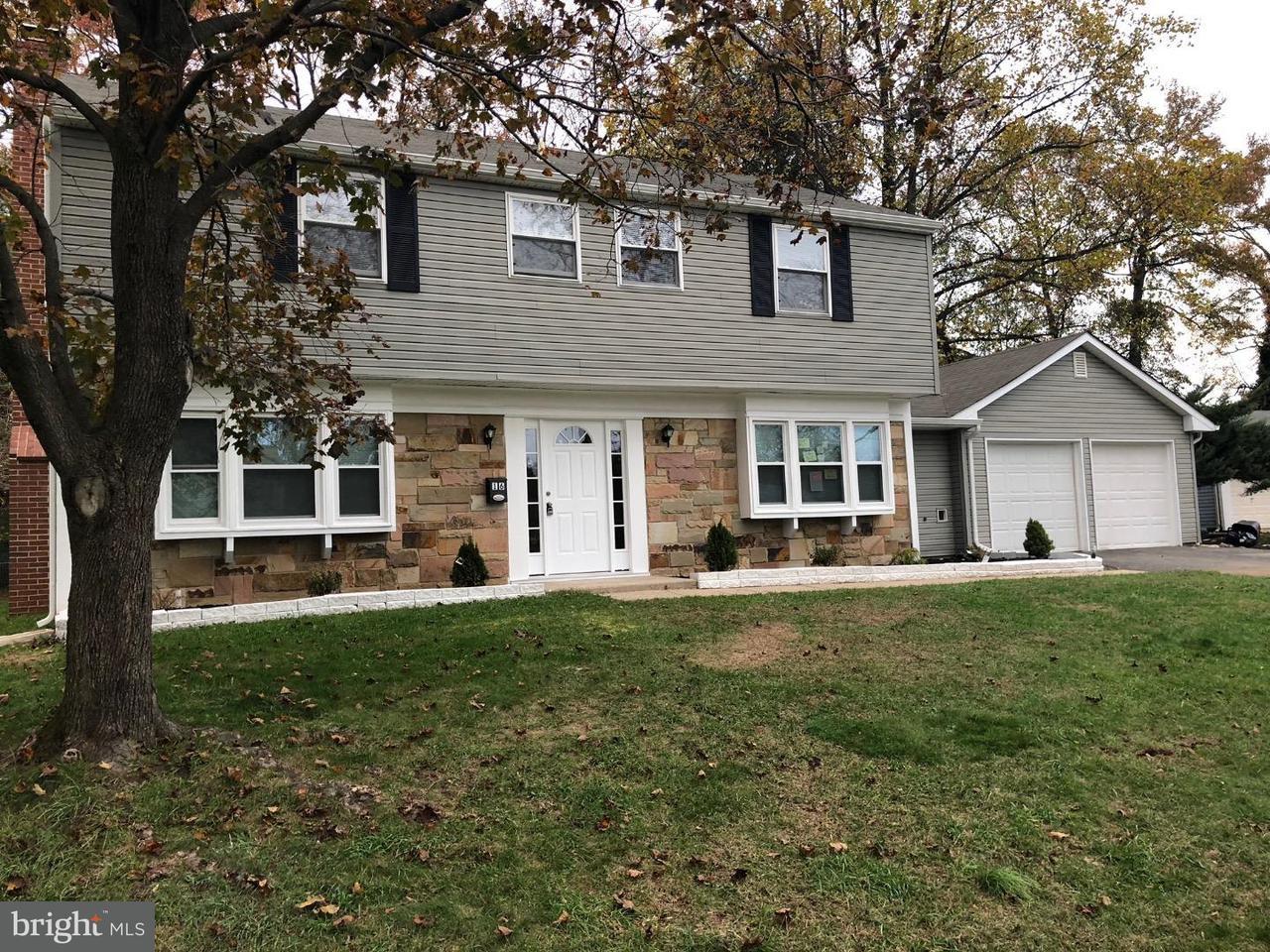 Maison unifamiliale pour l Vente à 16 TENNYSON Lane Willingboro, New Jersey 08046 États-Unis