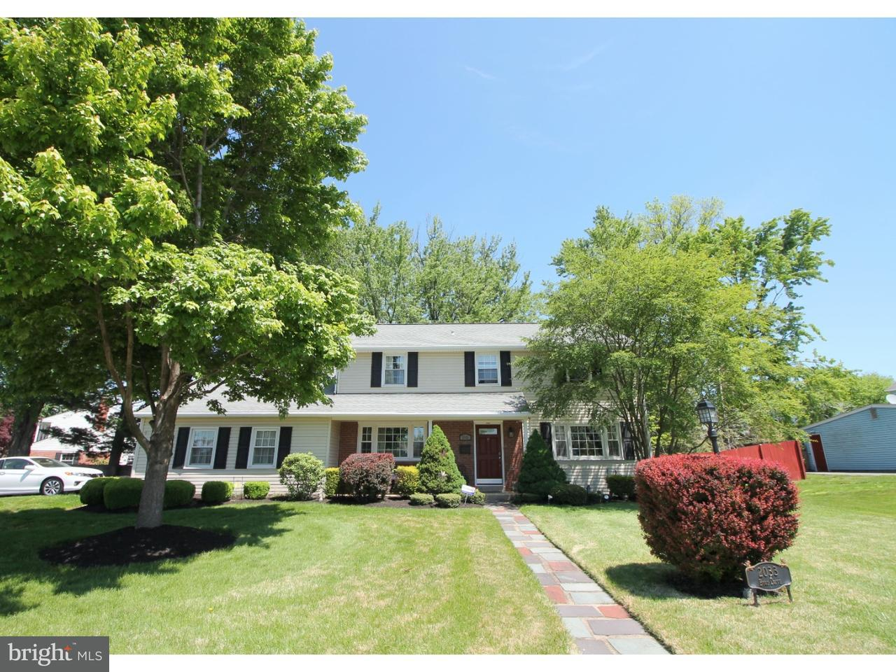Single Family Home for Sale at 2033 BYRD Drive Jeffersonville, Pennsylvania 19403 United States