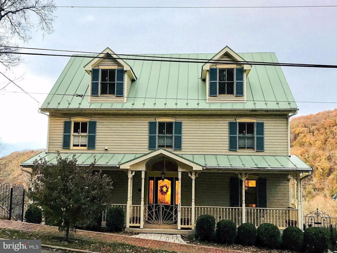 Vivienda unifamiliar por un Venta en 270 WASHINGTON Street 270 WASHINGTON Street Harpers Ferry, West Virginia 25425 Estados Unidos