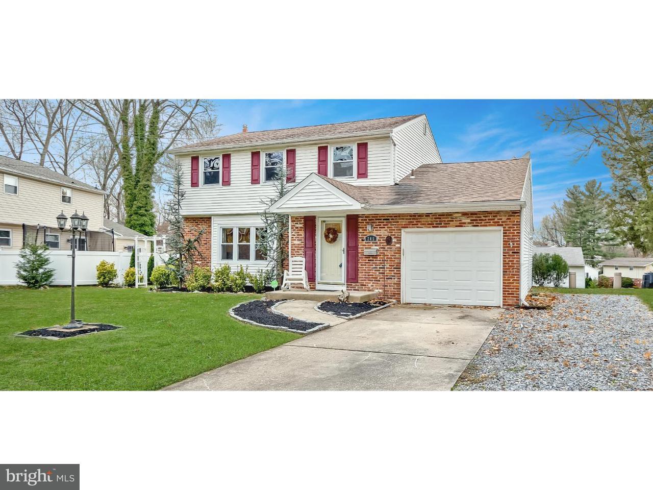 Частный односемейный дом для того Продажа на 205 E KRAFT Avenue Haddon Township, Нью-Джерси 08107 Соединенные Штаты