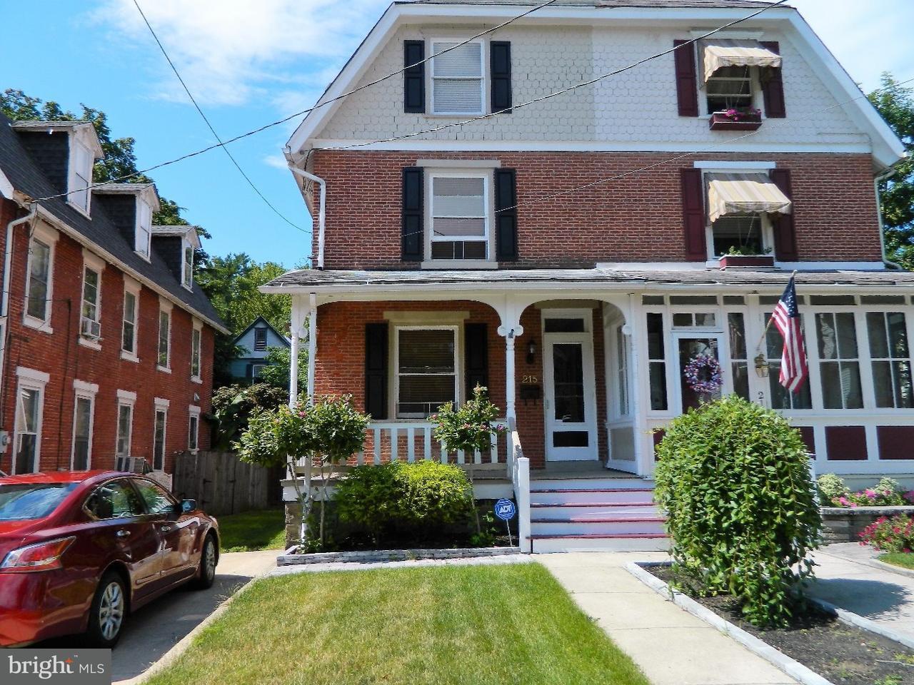 联栋屋 为 销售 在 215 HUNTER Street Woodbury, 新泽西州 08096 美国