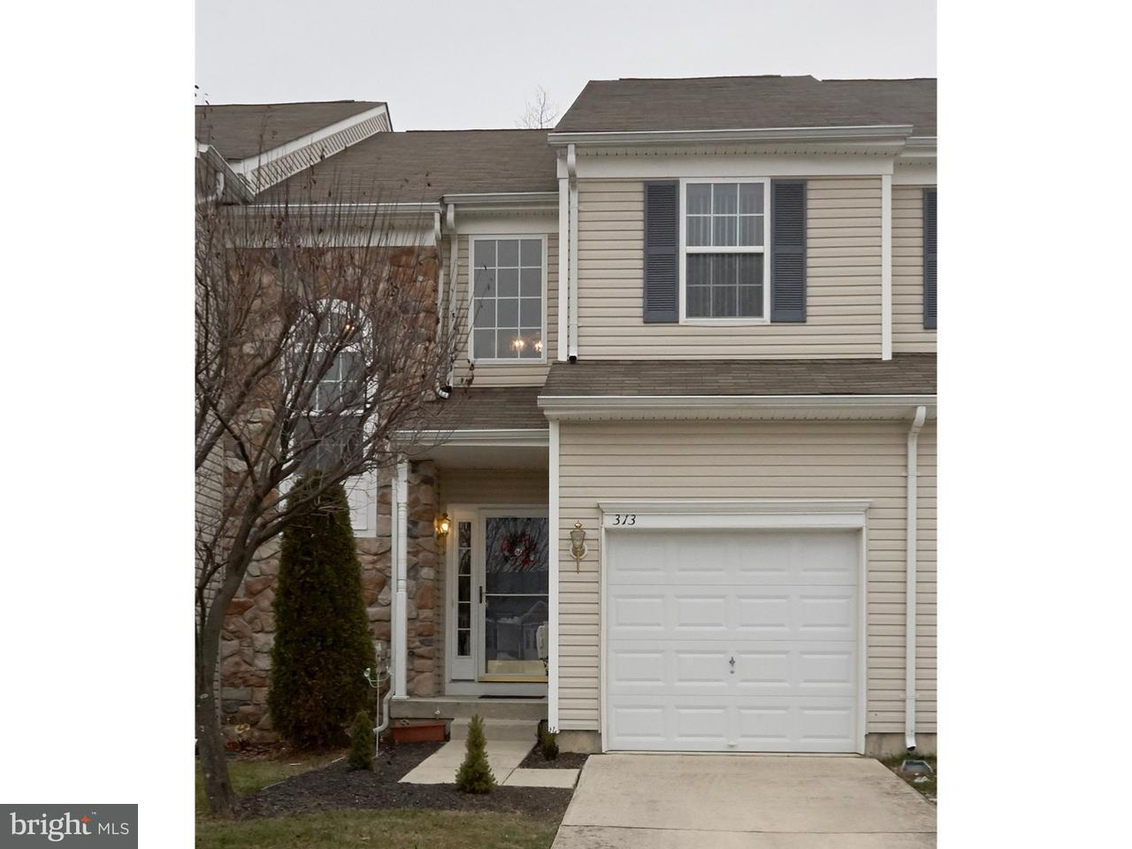 联栋屋 为 销售 在 313 CHANCELLOR Drive Deptford Township, 新泽西州 08096 美国