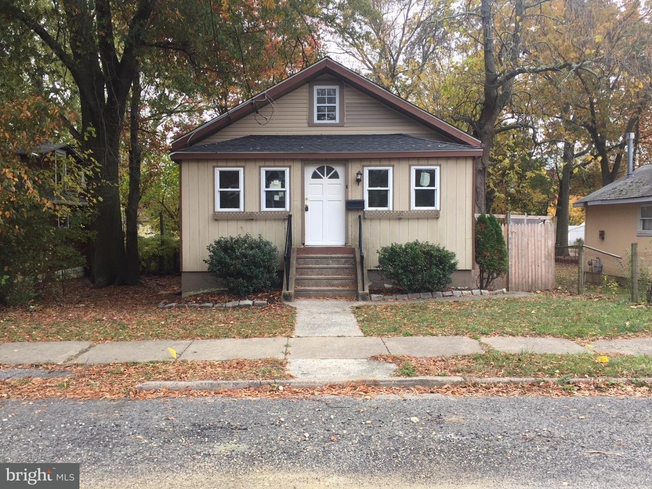 Частный односемейный дом для того Аренда на 323 W EVERGREEN Avenue Somerdale, Нью-Джерси 08083 Соединенные Штаты