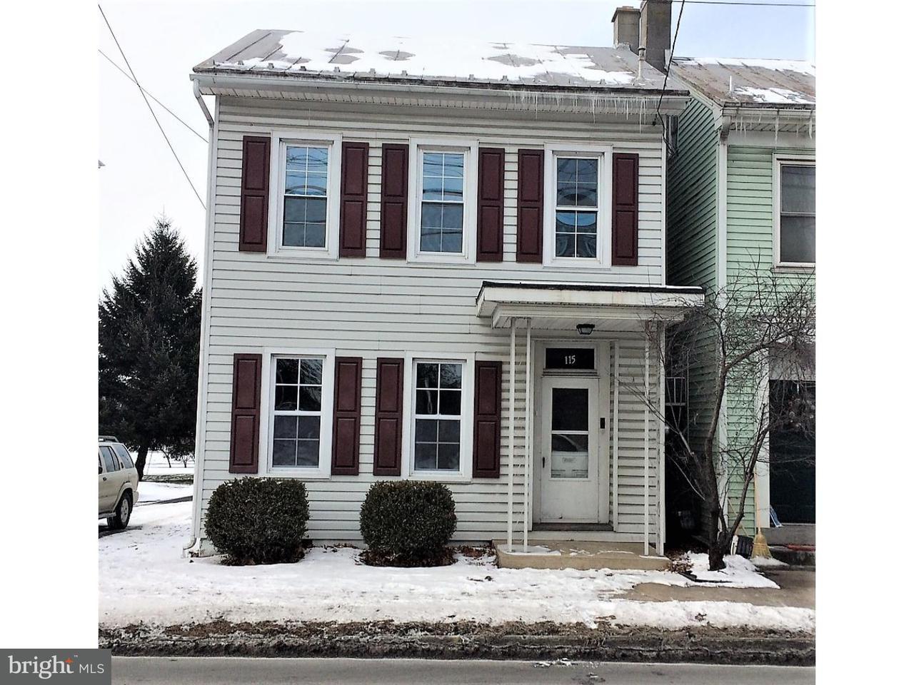Частный односемейный дом для того Продажа на 115 S COLLEGE Street Myerstown, Пенсильвания 17067 Соединенные Штаты