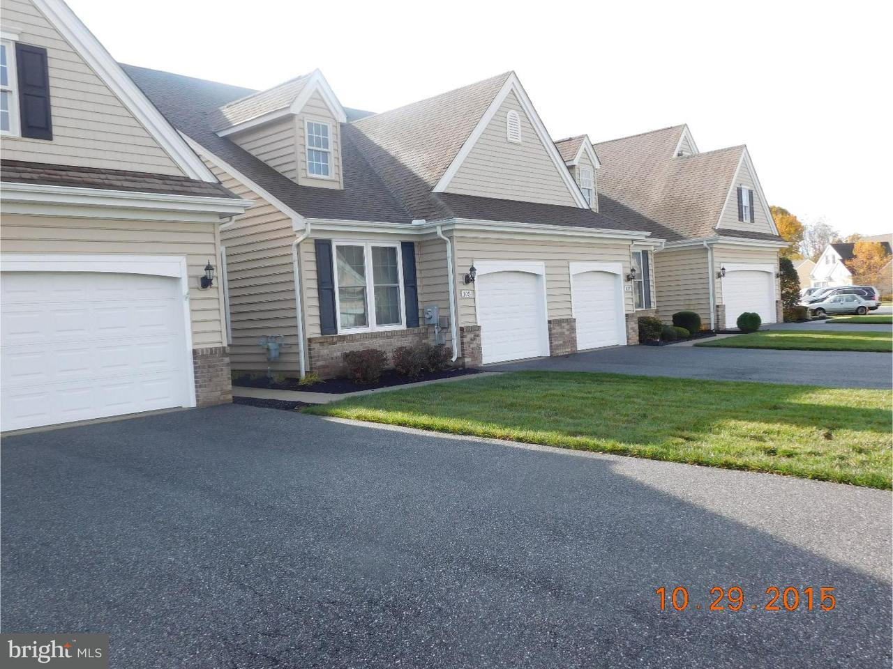 Townhouse for Rent at 105 SORRELL Circle Smyrna, Delaware 19977 United States