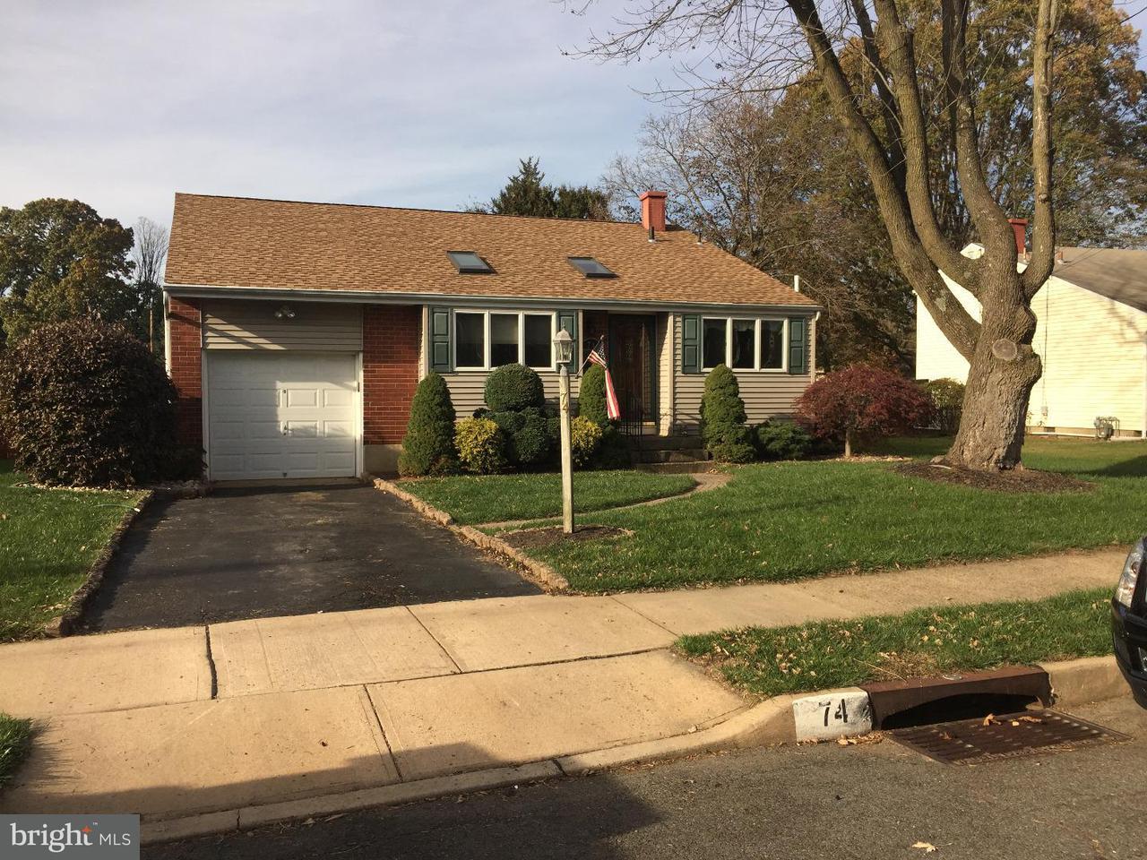 Single Family Home for Sale at 74 ELTON Avenue Yardville, New Jersey 08620 United StatesMunicipality: Hamilton Township