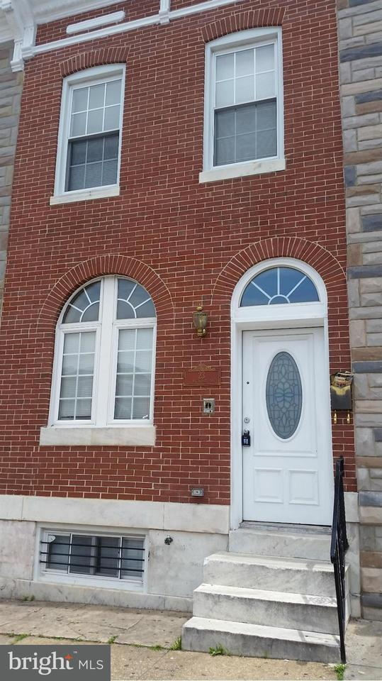 Single Family for Sale at 23 Highland Ave Baltimore, Maryland 21224 United States