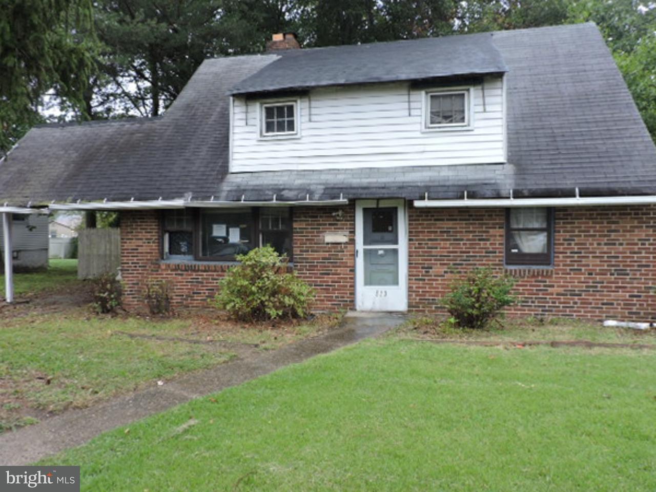 Частный односемейный дом для того Продажа на 513 N WARWICK Road Lawnside, Нью-Джерси 08045 Соединенные Штаты
