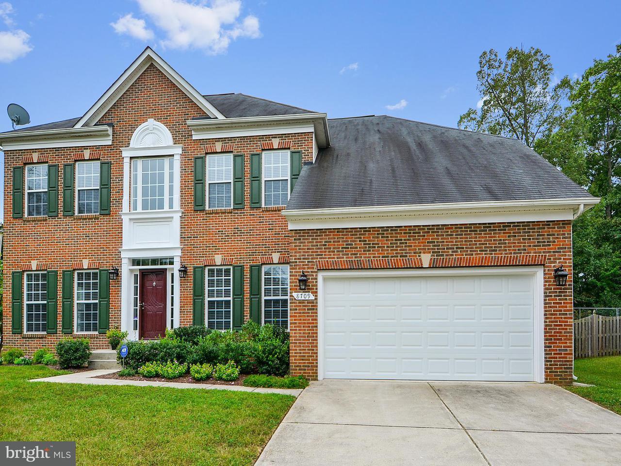 Maison unifamiliale pour l Vente à 8709 SHEEHAN Drive 8709 SHEEHAN Drive Brandywine, Maryland 20613 États-Unis