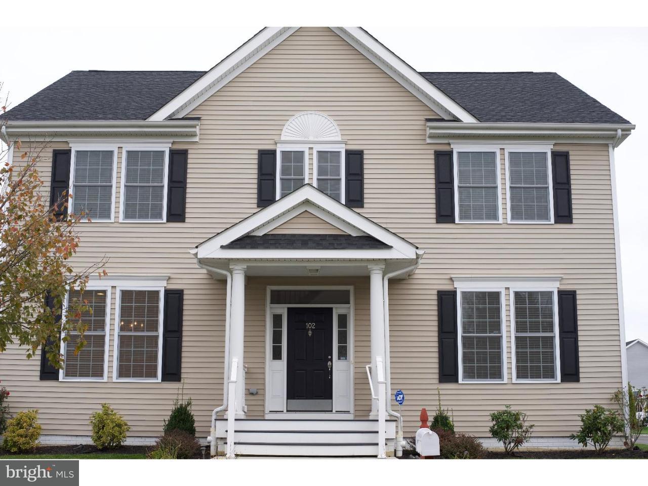 Maison unifamiliale pour l à louer à 102 ATSION WAY Chesterfield, New Jersey 08515 États-UnisDans/Autour: Chesterfield Township
