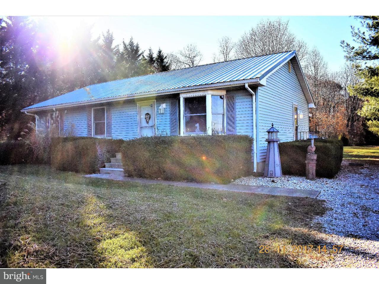 Частный односемейный дом для того Продажа на 1743 SLAUGHTER STATION Road Hartly, Делавэр 19953 Соединенные Штаты