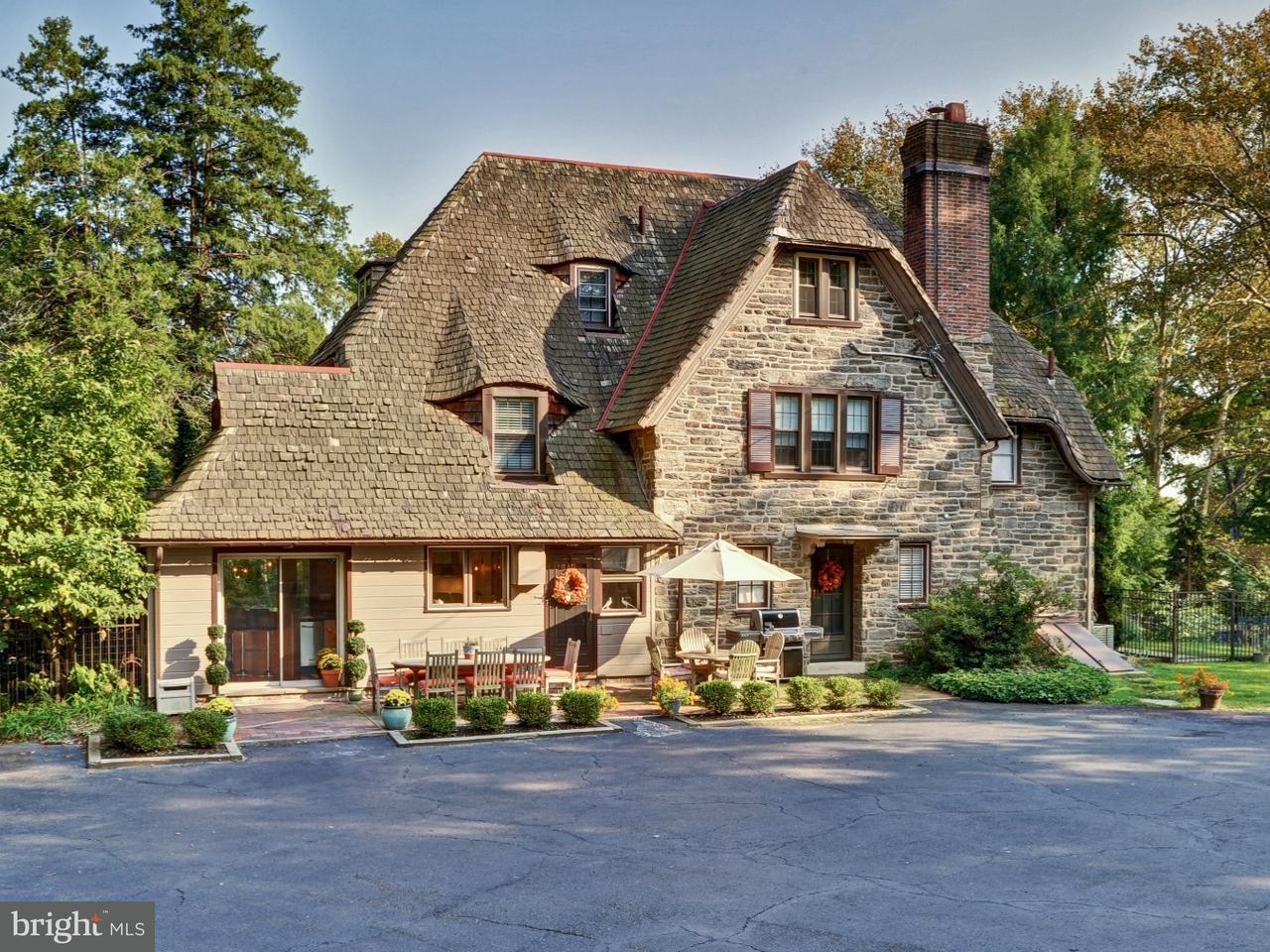 Частный односемейный дом для того Продажа на 1760 CLOVERLY Lane Jenkintown, Пенсильвания 19046 Соединенные Штаты