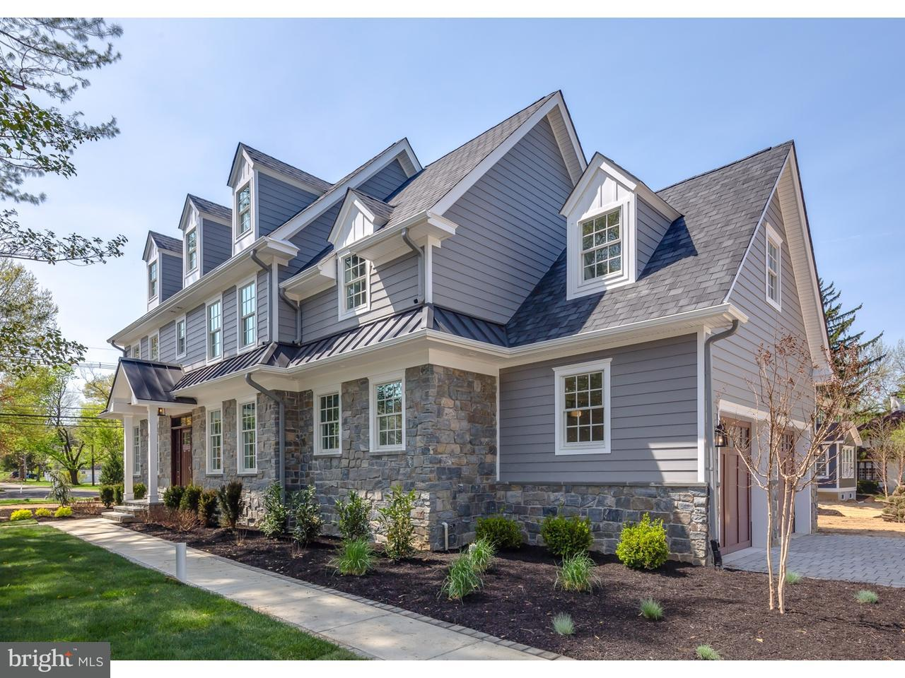 Maison unifamiliale pour l Vente à 161 GILL Road Haddonfield, New Jersey 08033 États-Unis
