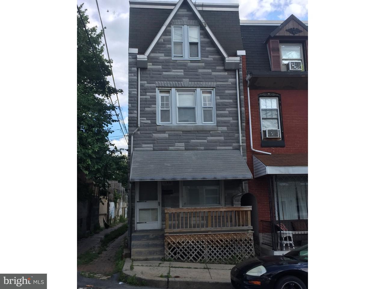 Casa unifamiliar adosada (Townhouse) por un Venta en 1146 DOUGLASS Street Reading, Pennsylvania 19604 Estados Unidos