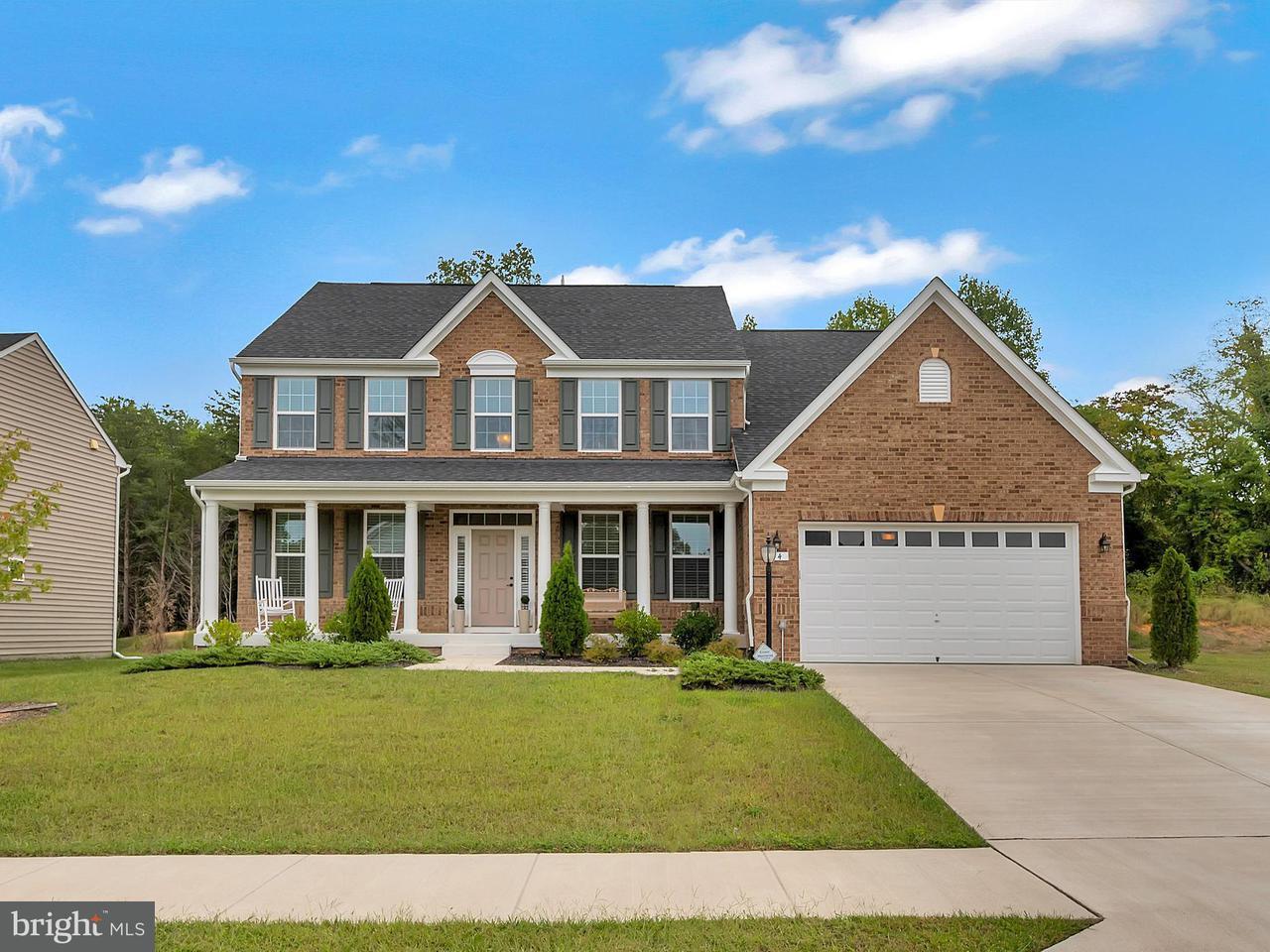 Casa Unifamiliar por un Venta en 14 LIBERTY KNOLLS Drive 14 LIBERTY KNOLLS Drive Stafford, Virginia 22554 Estados Unidos