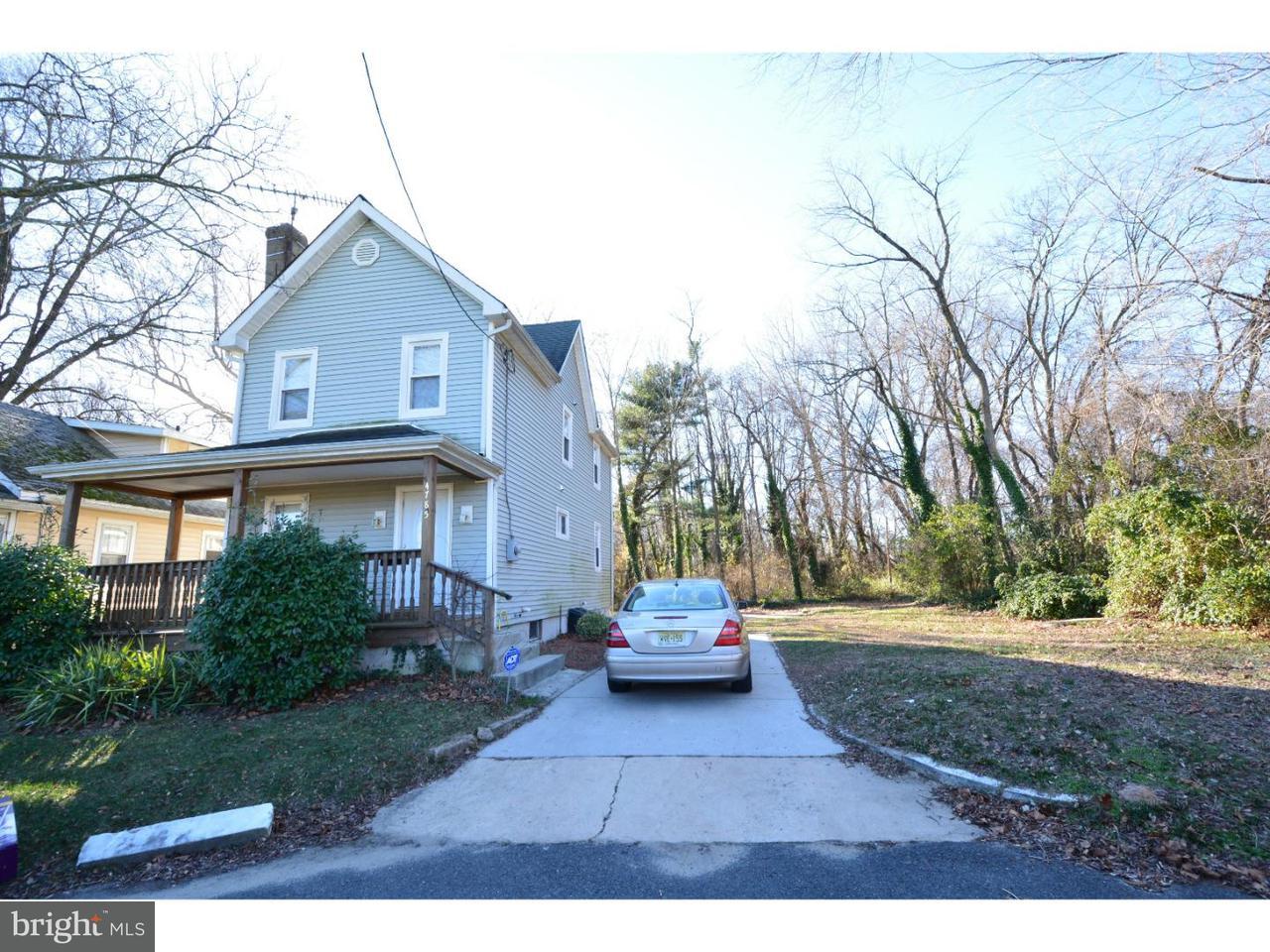 独户住宅 为 出租 在 4785 WILLOW Avenue Pennsauken, 新泽西州 08109 美国