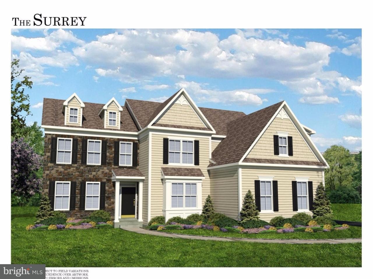 Single Family Home for Sale at Lot 13 N LANDMARK Lane Fort Washington, Pennsylvania 19034 United States