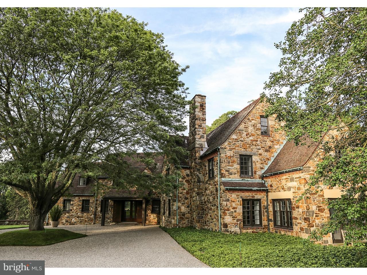 Частный односемейный дом для того Продажа на CHERRY Lane Wynnewood, Пенсильвания 19096 Соединенные Штаты