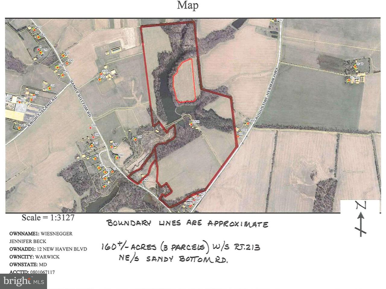 Land for Sale at AUGUSTINE HERMAN HWY AUGUSTINE HERMAN HWY Earleville, Maryland 21919 United States