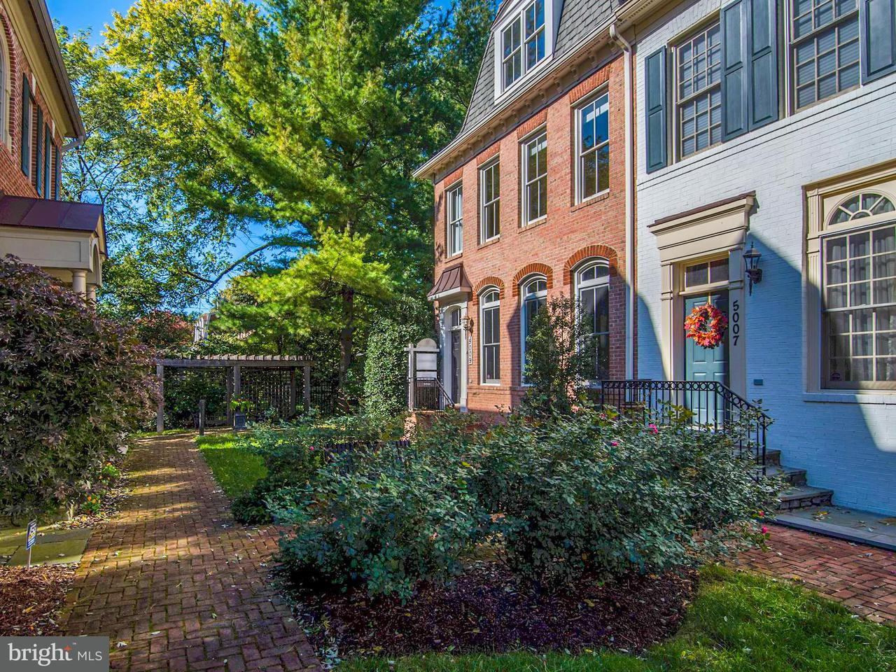 Townhouse for Sale at 5009 CEDAR CROFT Drive 5009 CEDAR CROFT Drive Bethesda, Maryland 20814 United States