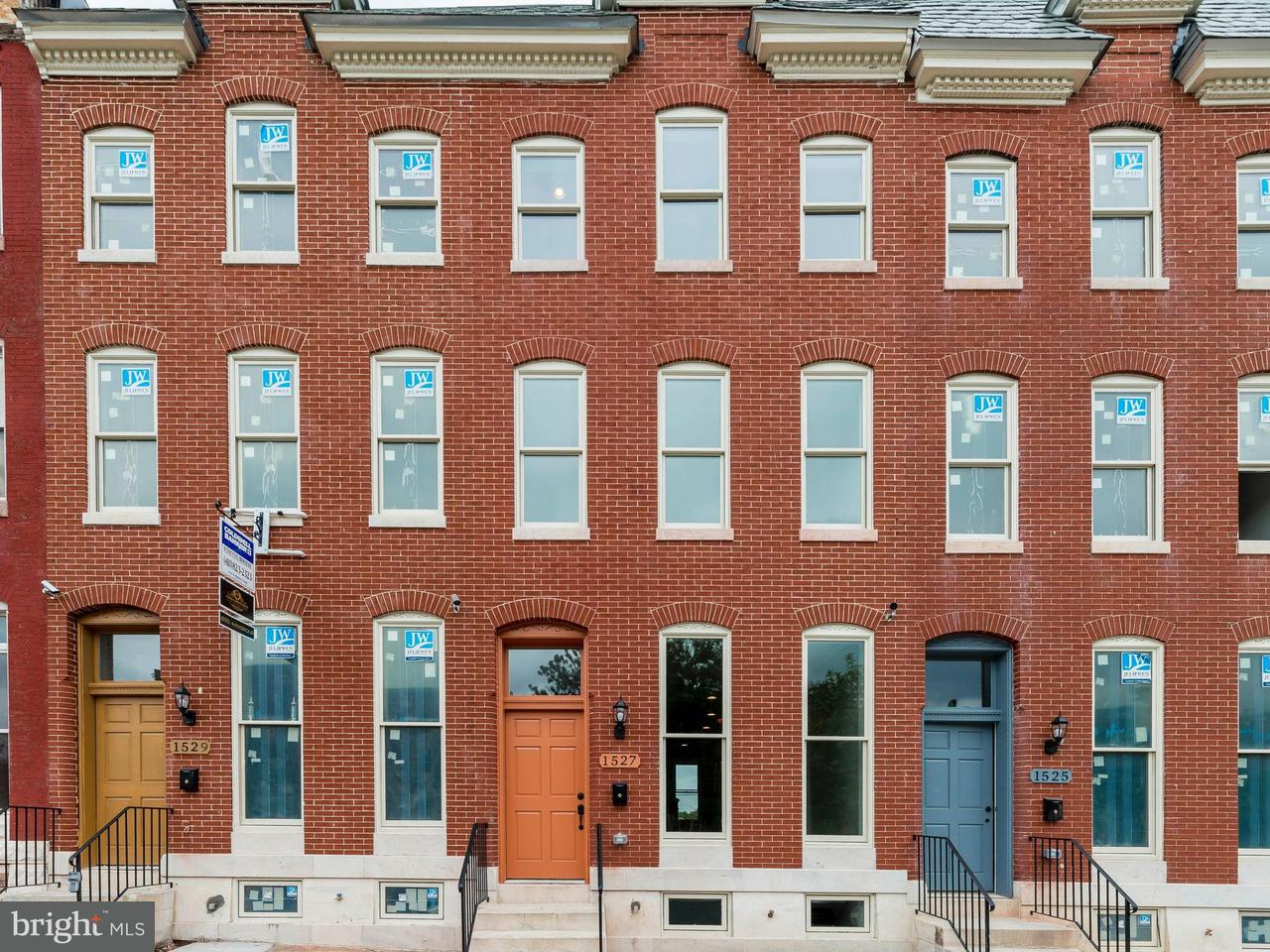 Single Family for Sale at 1529 Broadway Baltimore, Maryland 21213 United States