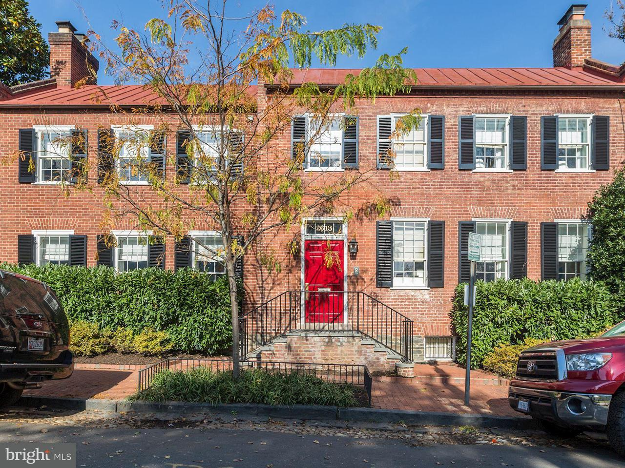 Townhouse for Sale at 2613 DUMBARTON ST NW 2613 DUMBARTON ST NW Washington, District Of Columbia 20007 United States