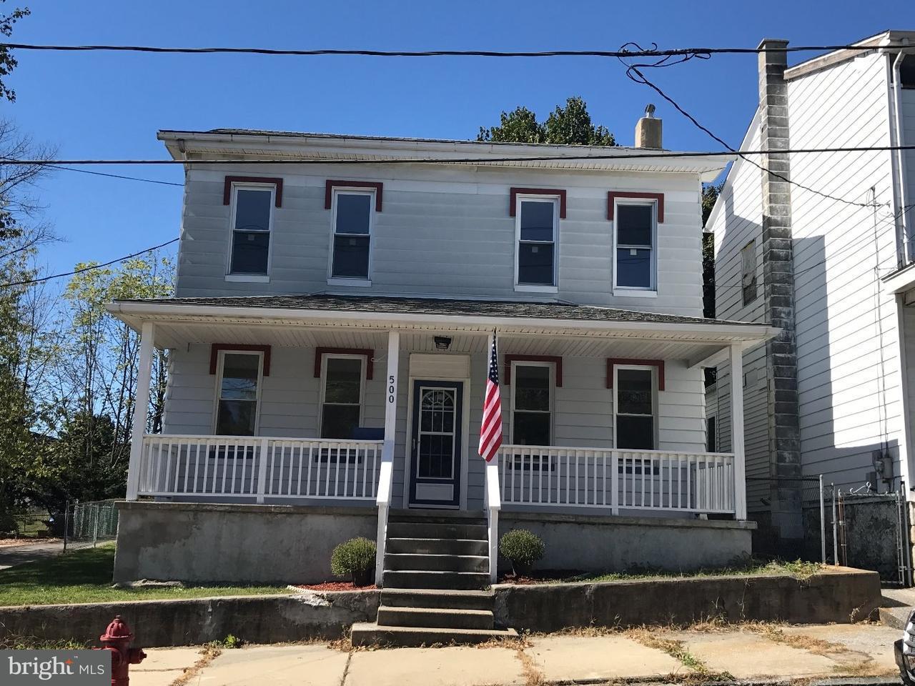 Частный односемейный дом для того Продажа на 500 N FRONT Street Minersville, Пенсильвания 17954 Соединенные Штаты