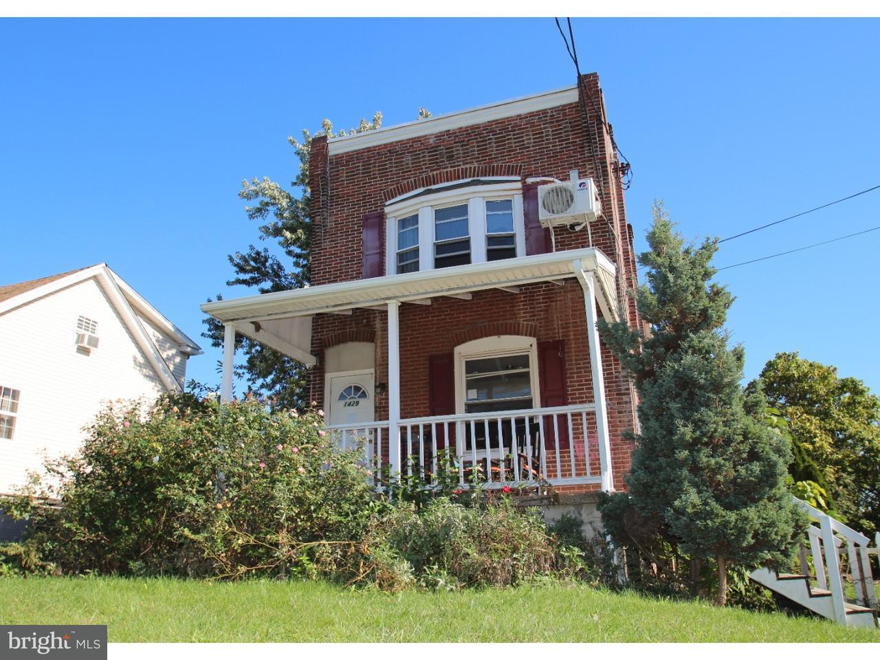 Single Family Home for Sale at 1429 BLUEBALL Avenue Linwood, Pennsylvania 19061 United States