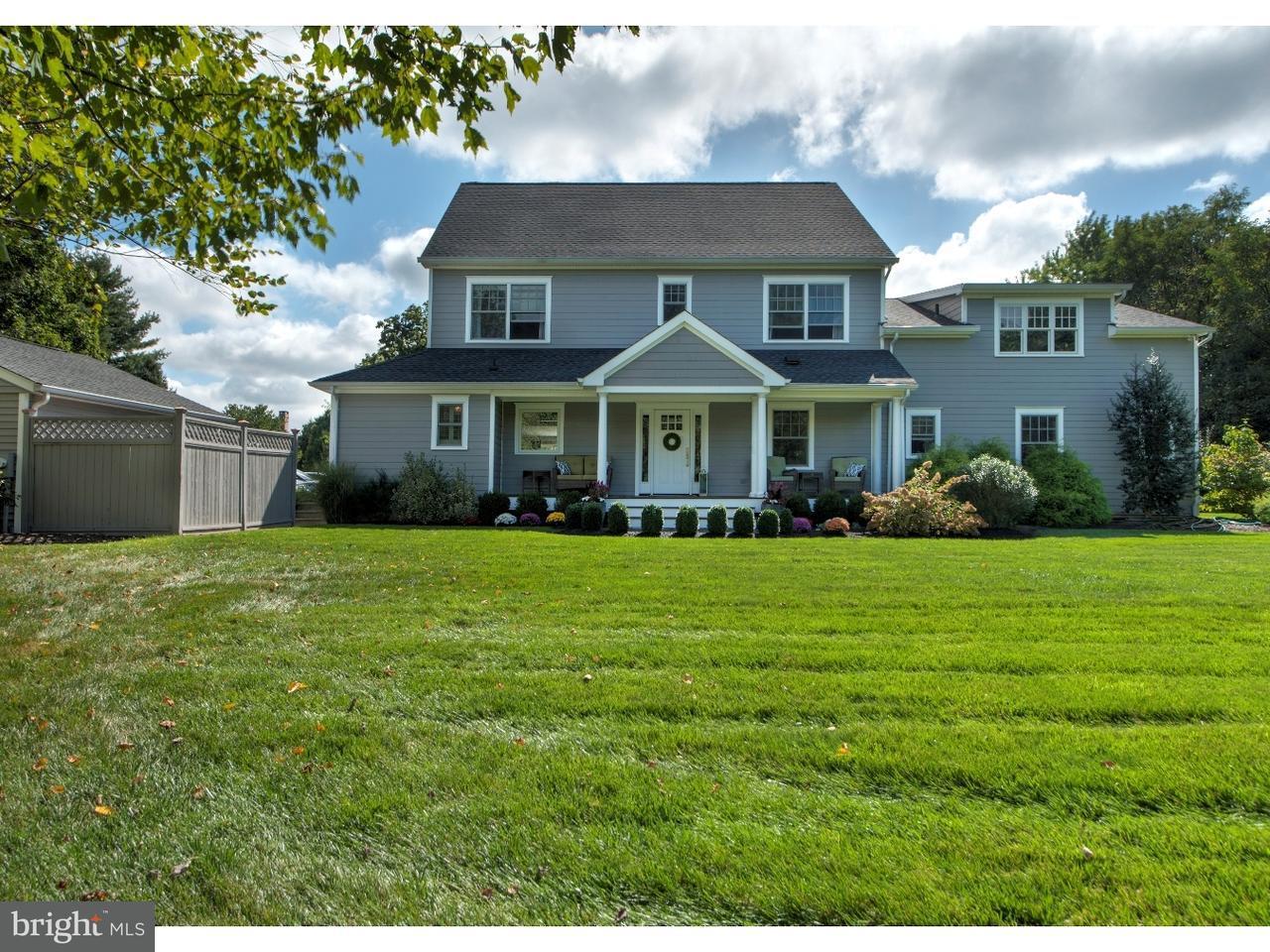Maison unifamiliale pour l Vente à 6234 LOWER MOUNTAIN Road Solebury, Pennsylvanie 18938 États-UnisDans/Autour: Solebury Township